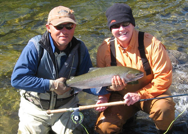Guide with Steelhead